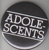ADOLESCENTS - LOGO BUTTON / BOTTLE OPENER / KEY CHAIN / MAGNET