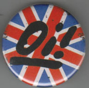 BIG BUTTON - OI WITH UK FLAG BUTTON / BOTTLE OPENER / KEY CH