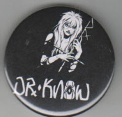 DR KNOW - LOGO BUTTON / BOTTLE OPENER / KEY CHAIN / MAGNET