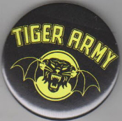 TIGER ARMY - LOGO BUTTON / BOTTLE OPENER / KEY CHAIN / MAGNET