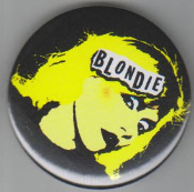 BLONDIE - DEBBIE BUTTON PIN / BOTTLE OPENER / KEY CHAIN / MAGNET