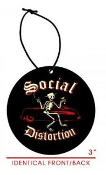SOCIAL DISTORTION - LOGO AIR FRESHENER