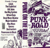 COMPILATION VHS - PUNK ON THE ROAD