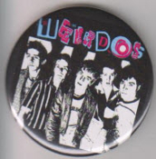 WEIRDOS - BAND PICTURE BUTTON PIN / BOTTLE OPENER