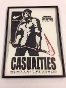 ORIGINAL HEADLINE FLYER - CASUALTIES (COLOR)