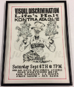 ORIGINAL HEADLINE FLYER - VISUAL DISCRIMINATION / LIFE'S HALT