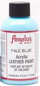 LEATHER PAINT PALE BLUE ACRYLIC