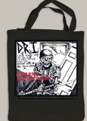 D.R.I - VIOLENT PACIFICATION TOTE BAG