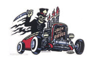 VINCE RAY STICKER - JACK THE RIPPER STICKER