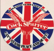 COCK SPARRER - CAN'T STAND PEACE AND QUIET SLIPMAT
