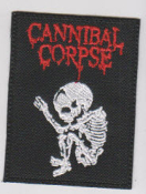 CANNIBAL CORPSE - LOGO (SKELETON) PATCH