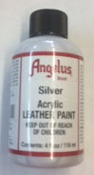 SILVER ACRYLIC LEATHER PAINT