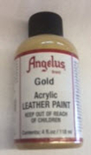 LEATHER PAINT GOLD ACRYLIC