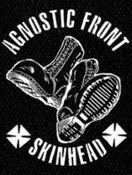 AGNOSTIC FRONT - BOOTS BACK PATCH