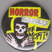 MISFITS - HORROR BUSINESS BUTTON / BOTTLE OPENER / KEY CHAIN