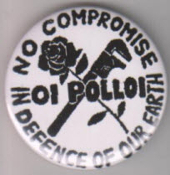 OI POLLOI - NO COMPROMISE BUTTON / BOTTLE OPENER / KEY CHAIN