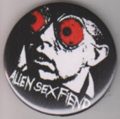 ALIEN SEX FIENDS - ACID BATH BUTTON / BOTTLE OPENER / KEY CHAIN
