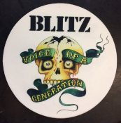 BLITZ - VOICE OF GENERATION SLIPMAT