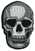 EMBROIDERED PATCH - SKULL