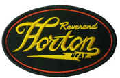 REVEREND HORTON HEAT - BOLT EMBROIDERED PATCH