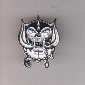 MOTORHEAD - LOGO ENAMEL PIN BADGE