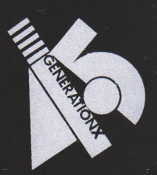 GENERATION X - LOGO PATCH