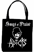 ADICTS - SONGS OF PRAISE TOTE BAG