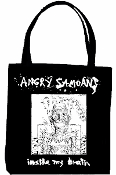 ANGRY SAMOANS - INSIDE MY BRAIN TOTE BAG