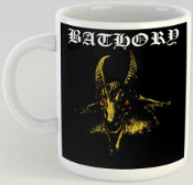 BATHORY - YELLOW LOGO MUG