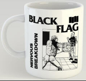 BLACK FLAG - NERVOUS BREAKDOWN MUG