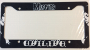 MISFITS - EVILIVE LICENSE PLATE