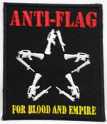 ANTI FLAG - FOR BLOOD & EMPIRE PATCH