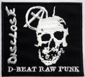 DISCLOSE - D BEAT RAW PUNK (SQUARE) PATCH