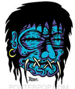 KRUSE STICKER - SHRUNKEN HEAD STICKER