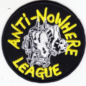 ANTI NOWHERE LEAGUE - FIST PATCH