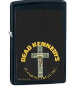 DEAD KENNEDYS - IN GOD WE TRUST INC ZIPPO LIGHTER REFILL METAL