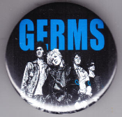 GERMS - CARTOON BUTTON / BOTTLE OPENER / KEY CHAIN / MAGNET