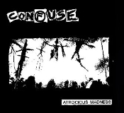 CONFUSE - ATROCIOUS MADNESS BACK PATCH