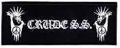 CRUDE SS - CRUDE SS W/ LOGO (RECTANGLE) PATCH