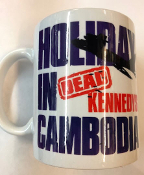 DEAD KENNEDYS - HOLIDAY IN CAMBODIA (BOMBER) MUG