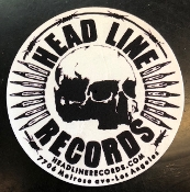 HEADLINE RECORDS SKULL SLIPMAT