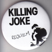 KILLING JOKE - REQUIEM BUTTON / BOTTLE OPENER / KEY CHAIN