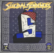 SUICIDAL TENDENCIES - FEEL LIKE SHIT FLAG BANNER