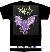 RANCID - DEMON BAT TEE SHIRT