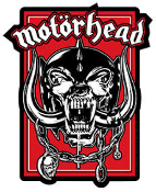 MOTORHEAD - WAR PIG IN RED STICKER