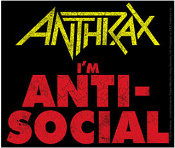 ANTHRAX - IM ANTI SOCIAL STICKER
