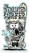 KRUSE STICKER - INEBRIATED SURFER
