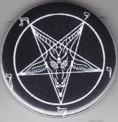 PENTAGRAM BUTTON / BOTTLE OPENER / KEY CHAIN / MAGNET