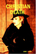CHRISTIAN DEATH - 1984 / 1989 PICTURES BOOK BY MICK MERCER