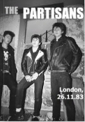 PARTISANS - LONDON 1983 PICTURES BOOK BY MICK MERCER